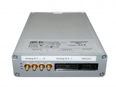Video analyzer for digital and analog signals