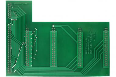 Board MUX4x16 50pol. slip on module V1.1 printed