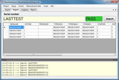 License Toolmonitor measurement data export