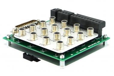Sensor-actuator distributor for Mech8IO, with mounting base