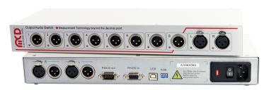 Audio 8 channel Output Switch
