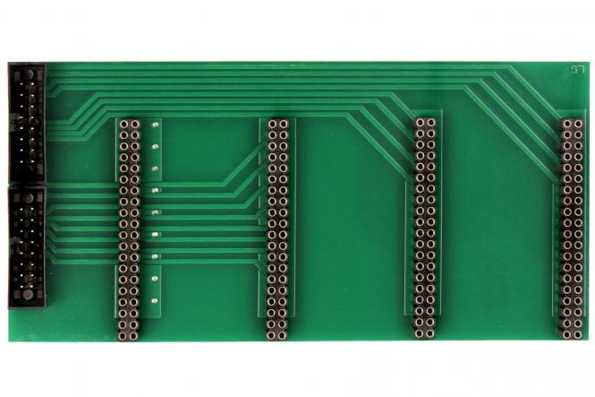 Relay card MUX 4x16 2x16pol fixture, printed (#115884)