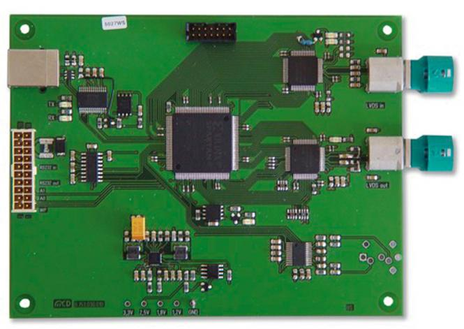 LVDS-Analyzer with MAX9259/MAX9260; USB and RS232
