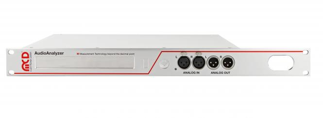 Audio Analyzer 1U Unit analog and digital (Rack mount)