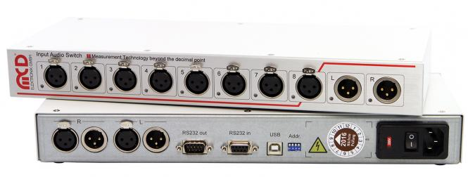 Audio 8 channel Input Switch